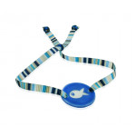 Bracelet nacre poisson bleu d'été