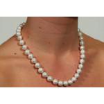 Collier perles de culture Prestige Blanc