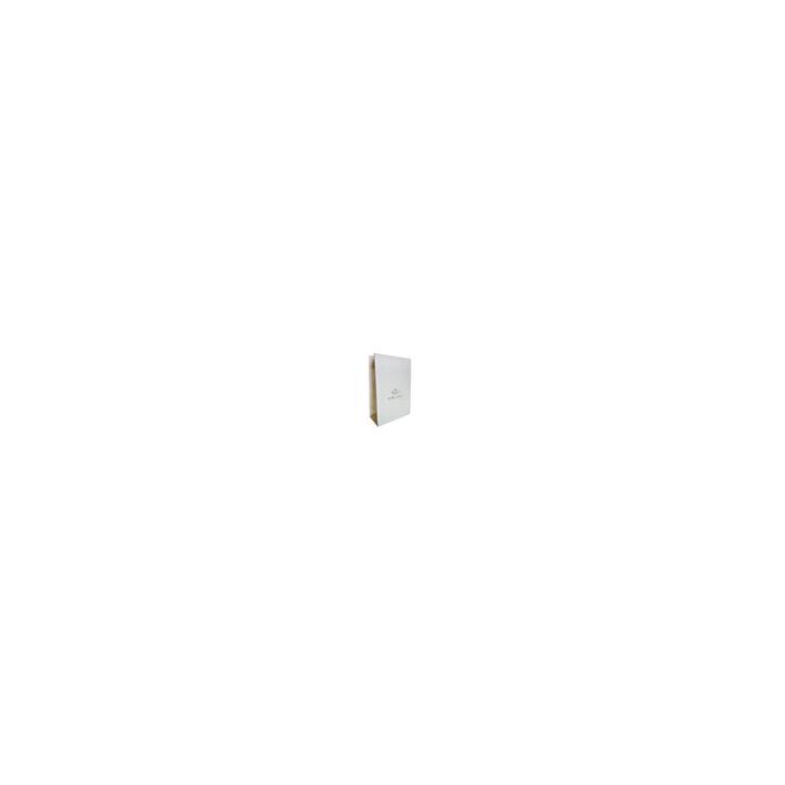 Emballage Cadeau : Pochette en papier glacé blanc