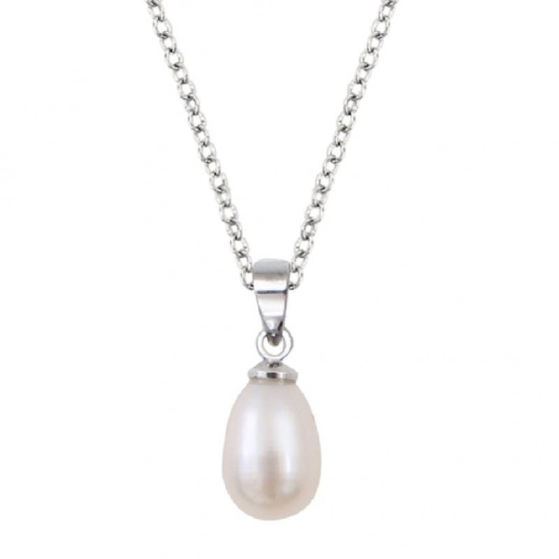 collier perle goutte