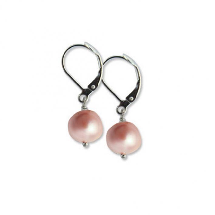 Boucles d'oreilles Dormeuse Perle