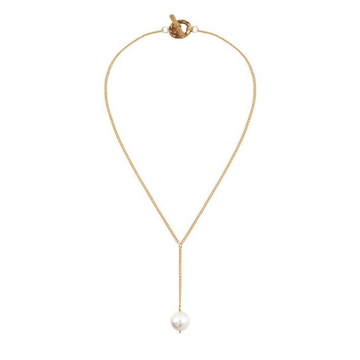 Collier trio de perles de culture blanches et noires