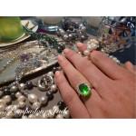 Bague Pompadour Jade