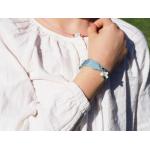 Bracelet Breloque Croix Nacre