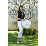 Sautoir Prestige perles de culture bicolore blanc et noir