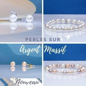 Nouvelles créations Perles sur argent massif
